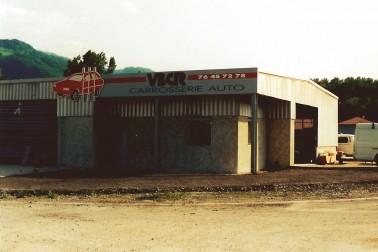 VBCR premiers bâtiments